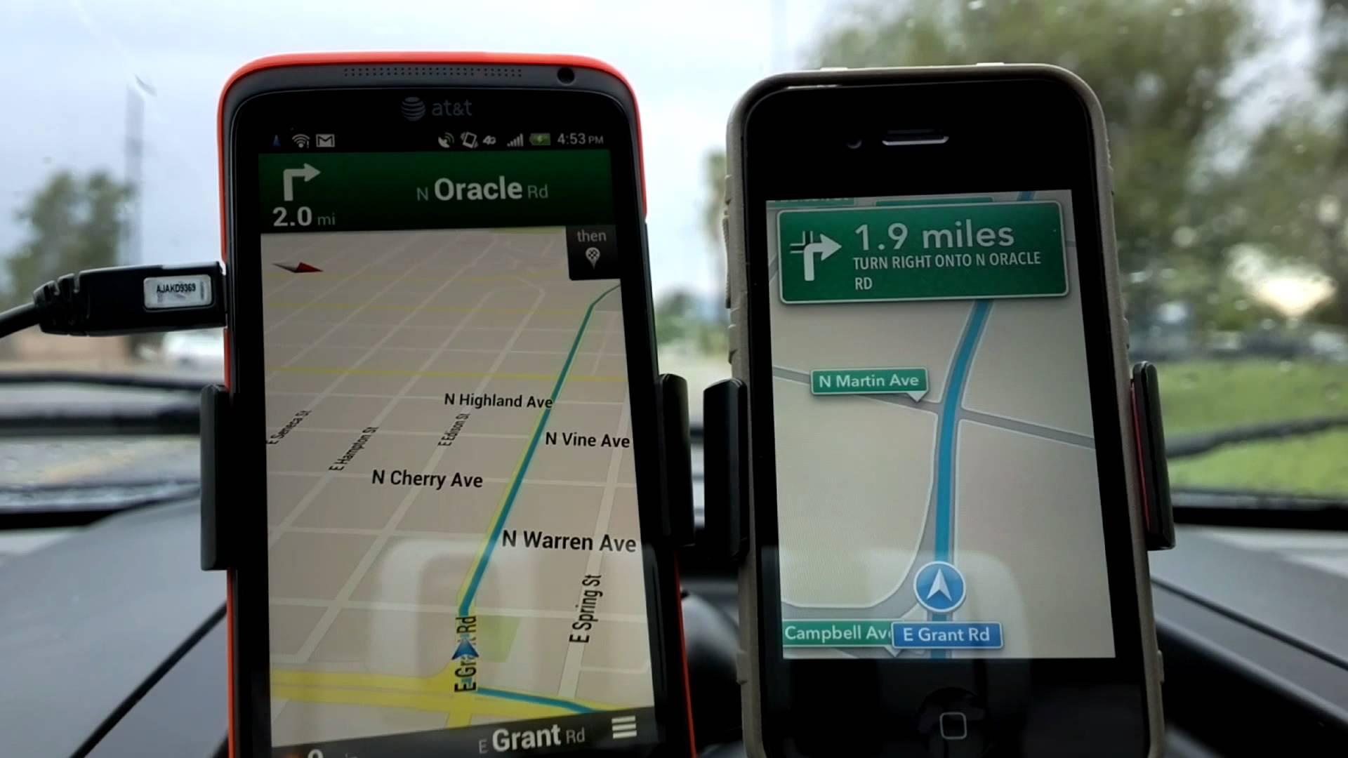Google Maps Iphone Default on