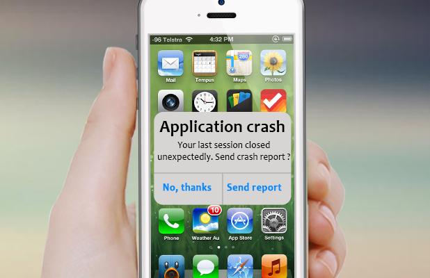 Mobile App Crashing