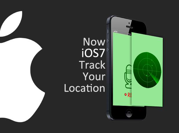 Now iOS 7 Tracks Location