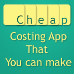 Cheap Costing Apps