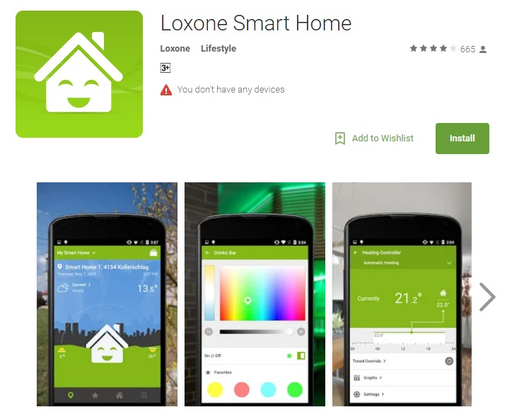 10 best free luxury home automation android apps for geeks the app entrepreneur. Black Bedroom Furniture Sets. Home Design Ideas