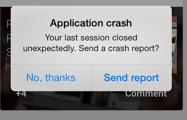 iphone apps crashing why do app crash even the confirmed ones the app 11602