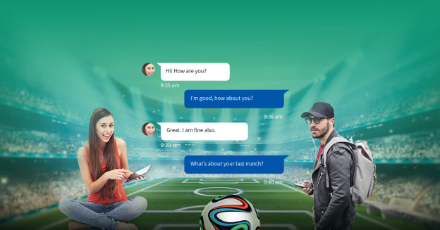 Sports chatting mobile app