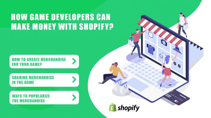 Game Developers Making Money With Shopify